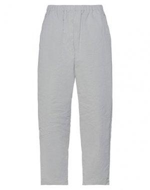 Повседневные брюки ISSEY MIYAKE. Цвет: светло-серый