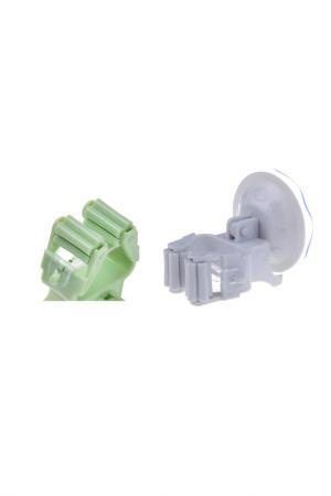 Комплект держателей для швабры HOMSU. Цвет: зеленый, серый
