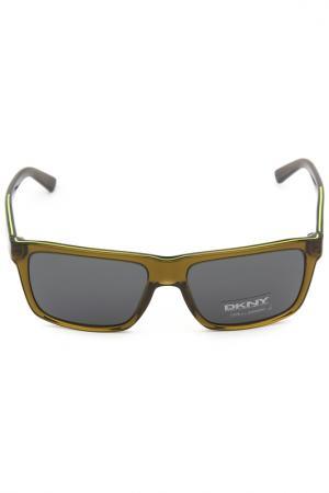 Очки солнцезащитные DKNY. Цвет: 365287