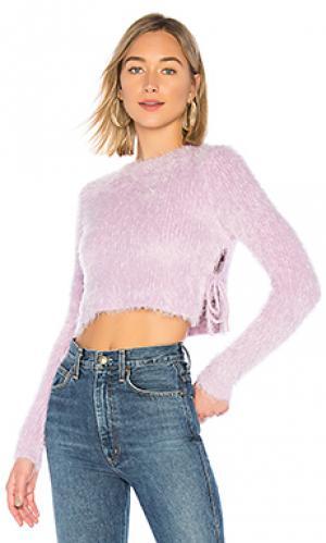 Пуловер marjorie MAJORELLE. Цвет: бледно-лиловый