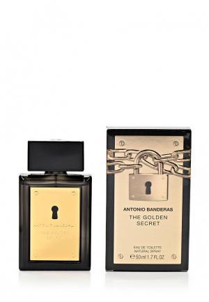 Туалетная вода Antonio Banderas Golden Secret Men 50 мл. Цвет: белый