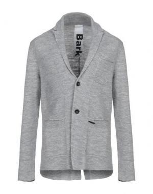 Пиджак BARK. Цвет: серый