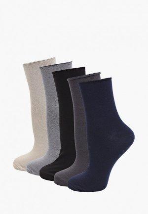Носки 5 пар Rusocks. Цвет: разноцветный
