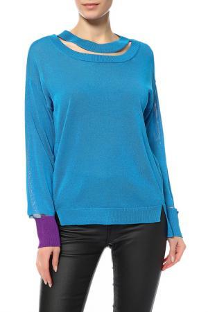 Пуловер Diesel. Цвет: голубой