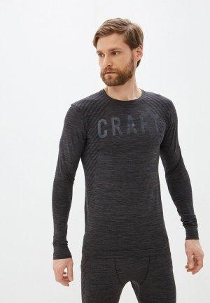 Термобелье верх Craft Fuseknit Comfort RN LS. Цвет: серый