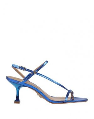 Сандалии CARRANO. Цвет: ярко-синий
