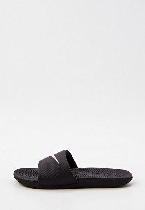 Сланцы Nike KAWA SLIDE (GS/PS). Цвет: черный