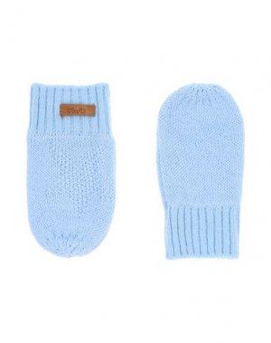 Перчатки BARTS. Цвет: небесно-голубой