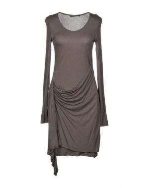 Короткое платье SUPERTRASH. Цвет: свинцово-серый