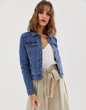 Джинсовая куртка -Синий Vero Moda