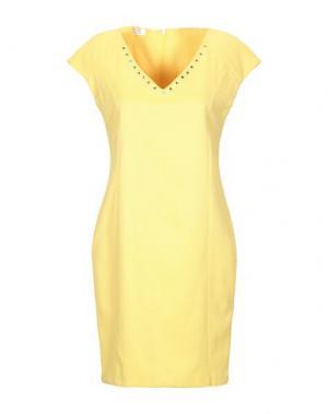 Короткое платье EAN 13. Цвет: желтый