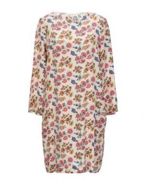 Короткое платье ATTIC AND BARN. Цвет: слоновая кость
