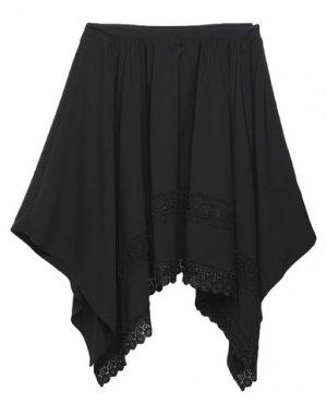 Юбка до колена MARIUCCIA. Цвет: черный