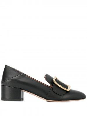Туфли-лодочки с пряжками Bally. Цвет: черный