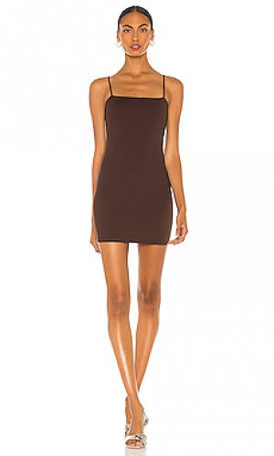 Мини платье Susana Monaco. Цвет: коричневый