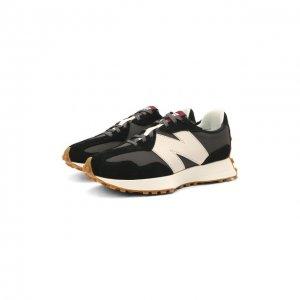 Комбинированные кроссовки 327 Future Classics New Balance. Цвет: чёрно-белый