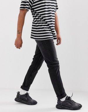 Суженные книзу джинсы черного цвета sonic-Черный Cheap Monday