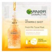 Fresh-Mix Brightening Face Sheet Shot Mask with Vitamin C 33g Garnier