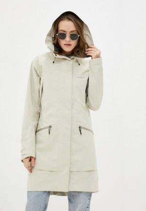 Куртка Didriksons ILMA. Цвет: бежевый