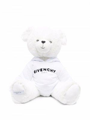Мягкая игрушка в виде медведя Givenchy Kids. Цвет: белый