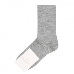 Носки La Perla. Цвет: серый