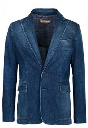 Пиджак GALLIANO. Цвет: синий