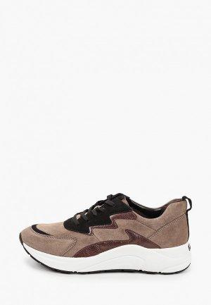 Кроссовки Caprice. Цвет: коричневый