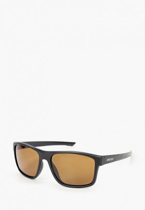 Очки солнцезащитные Brenda G072-1 mblack-smoke. Цвет: черный