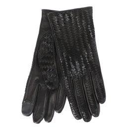 Перчатки CHLOETRESSE черный AGNELLE