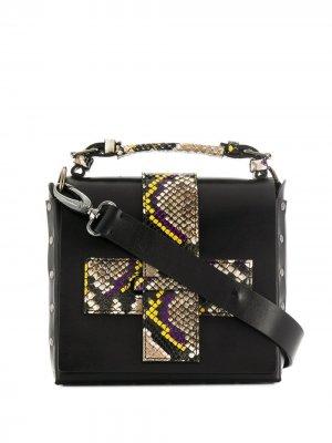 Мини-сумка через плечо A.F.Vandevorst. Цвет: черный