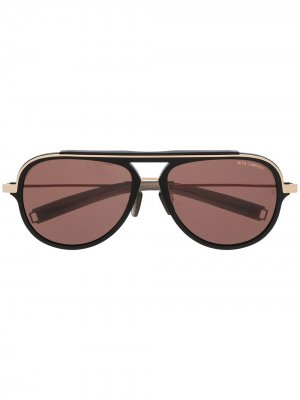 Солнцезащитные очки Lancier LSA-406 Dita Eyewear. Цвет: черный