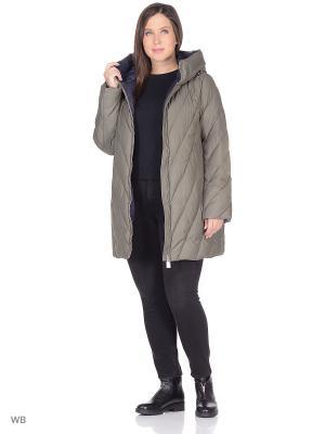 Куртка Clasna. Цвет: хаки
