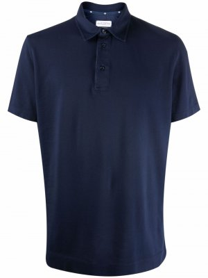 Рубашка поло с заостренным воротником Ballantyne. Цвет: синий