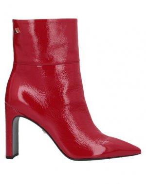 Полусапоги и высокие ботинки GREY MER. Цвет: красный
