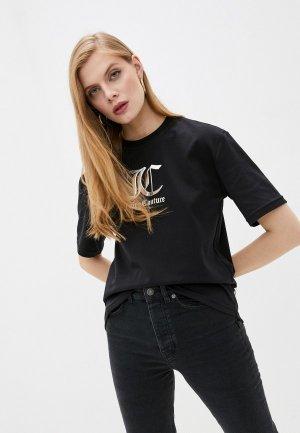 Футболка Juicy Couture LOLA. Цвет: черный