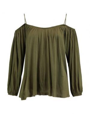 Блузка BAILEY 44. Цвет: зеленый-милитари