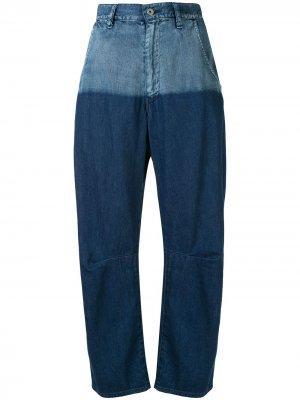 Ys джинсы бойфренды свободного кроя с заниженной талией Y's. Цвет: синий