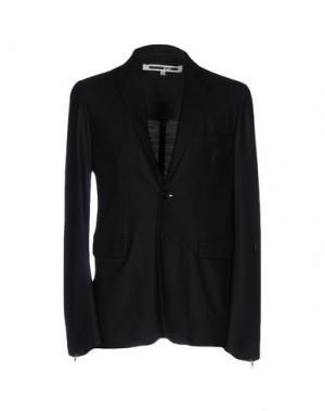 Пиджак McQ Alexander McQueen. Цвет: черный