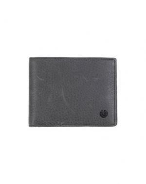 Бумажник BELSTAFF. Цвет: свинцово-серый