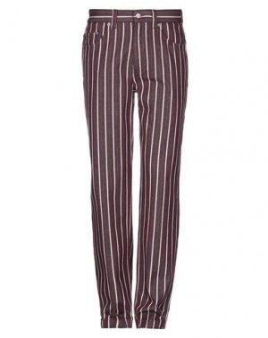 Джинсовые брюки NAPAPIJRI. Цвет: красно-коричневый