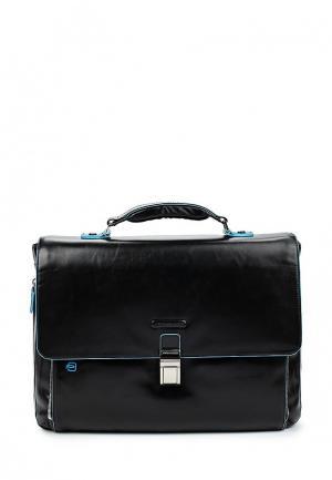 Портфель Piquadro BLUE SQUARE. Цвет: черный
