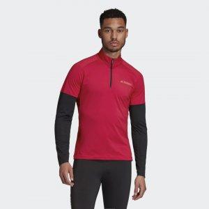 Джемпер для беговых лыж Terrex Agravic adidas. Цвет: черный