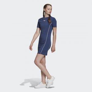 Платье-футболка Originals adidas. Цвет: none
