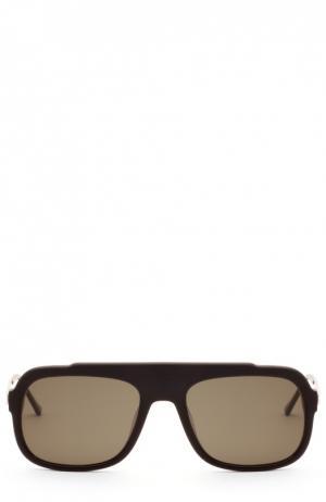 Солнцезащитные очки Thierry Lasry. Цвет: темно-коричневый