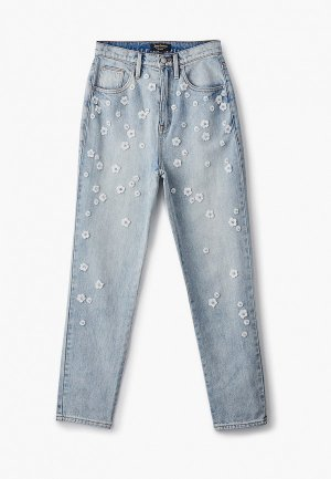 Джинсы Juicy Couture. Цвет: голубой