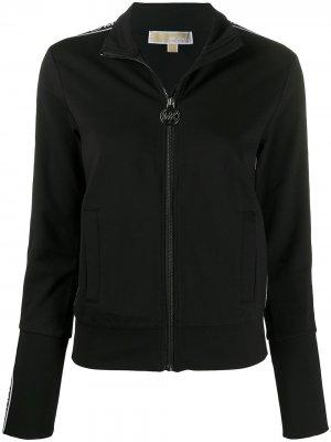 Куртка на молнии с логотипом Michael Kors. Цвет: черный