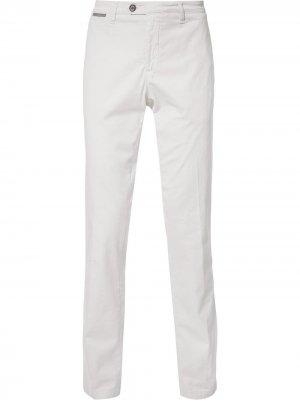 Классические брюки прямого кроя Eleventy. Цвет: нейтральные цвета