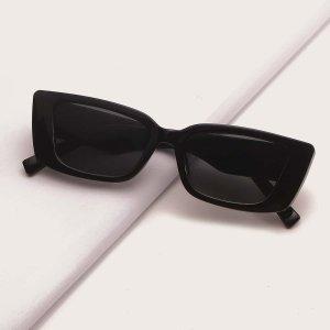 Мужские солнцезащитные очки SHEIN. Цвет: чёрный