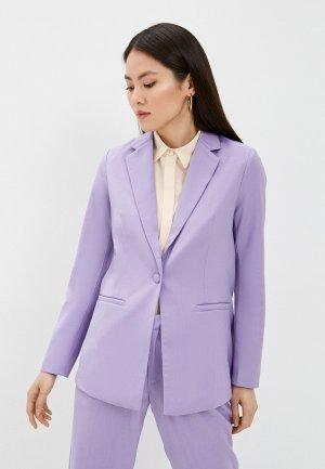 Пиджак Снежная Королева. Цвет: фиолетовый