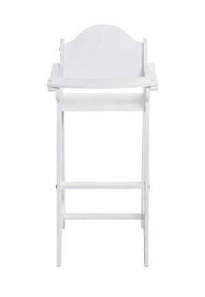 Игрушка Paremo Кукольный стул. Цвет: белый